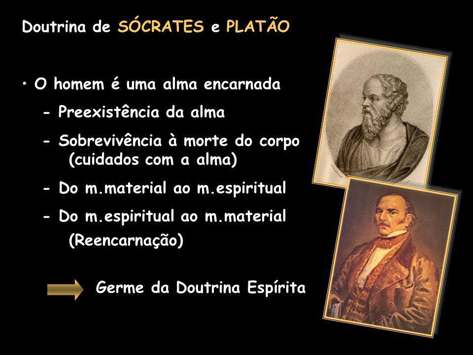 Doutrina de SÓCRATES e PLATÃO