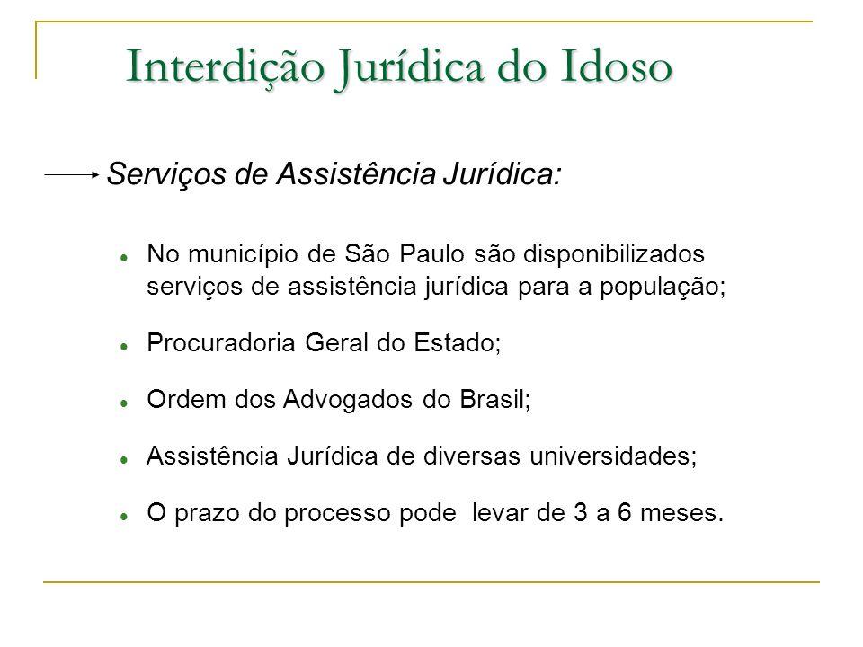 Interdição Jurídica do Idoso