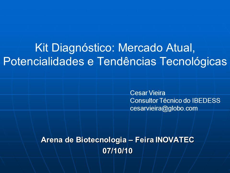 Arena de Biotecnologia – Feira INOVATEC 07/10/10