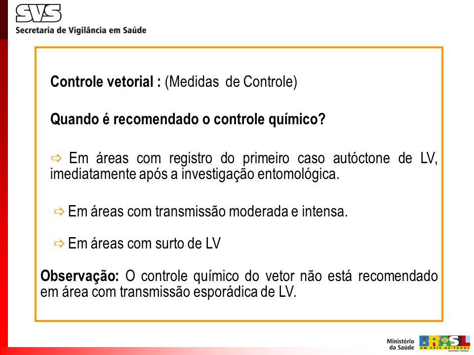 Controle vetorial : (Medidas de Controle)