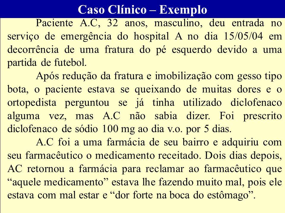 Caso Clínico – Exemplo