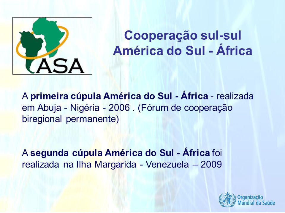 Cooperação sul-sul América do Sul - África