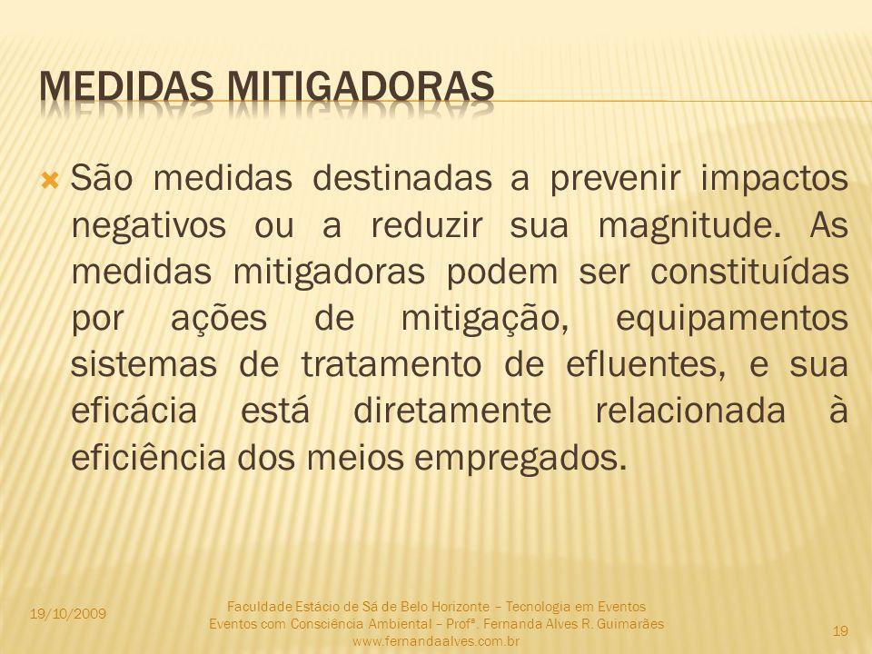 Medidas mitigadoras