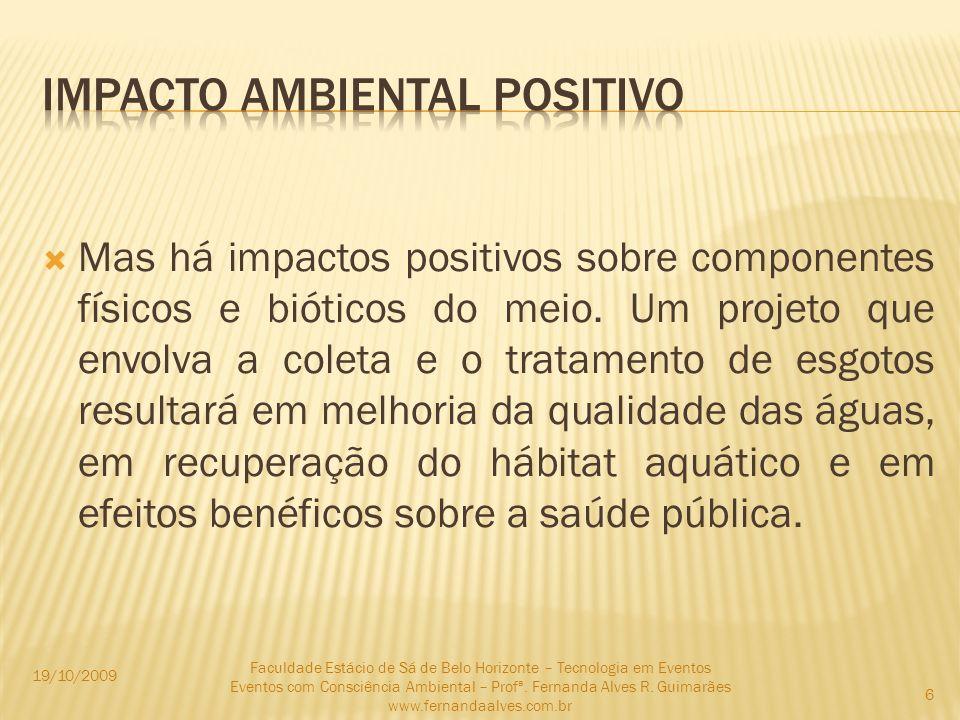 Impacto ambiental positivo