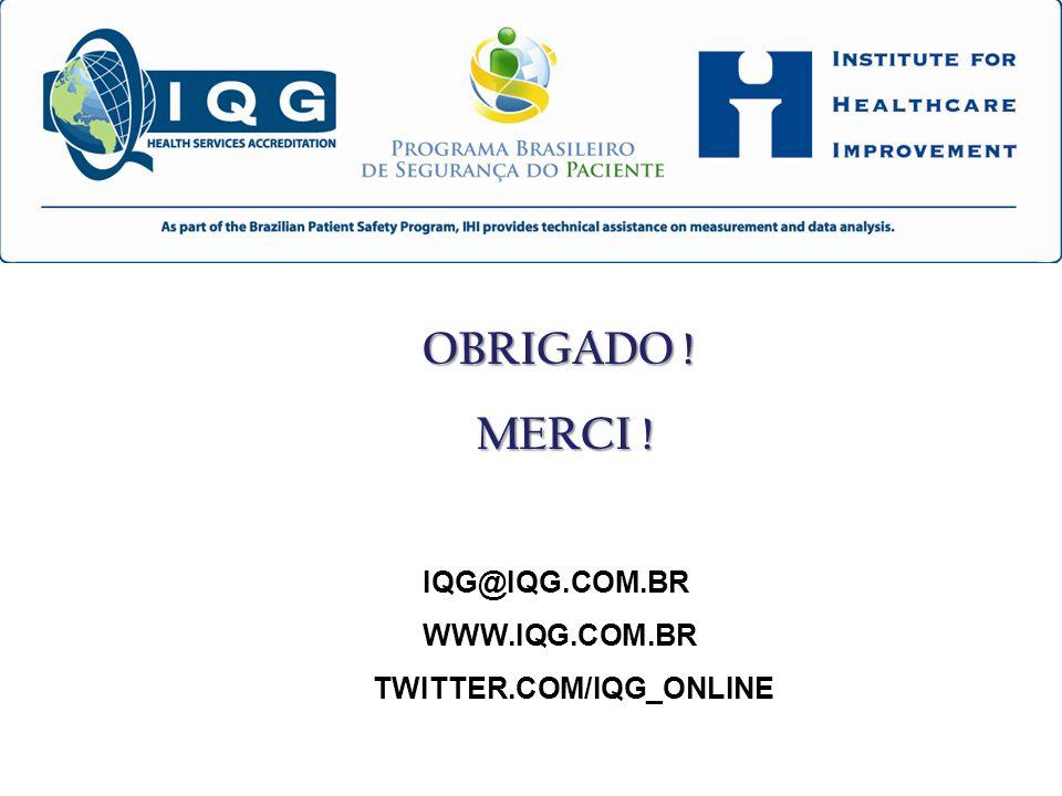 MERCI ! IQG@IQG.COM.BR WWW.IQG.COM.BR TWITTER.COM/IQG_ONLINE
