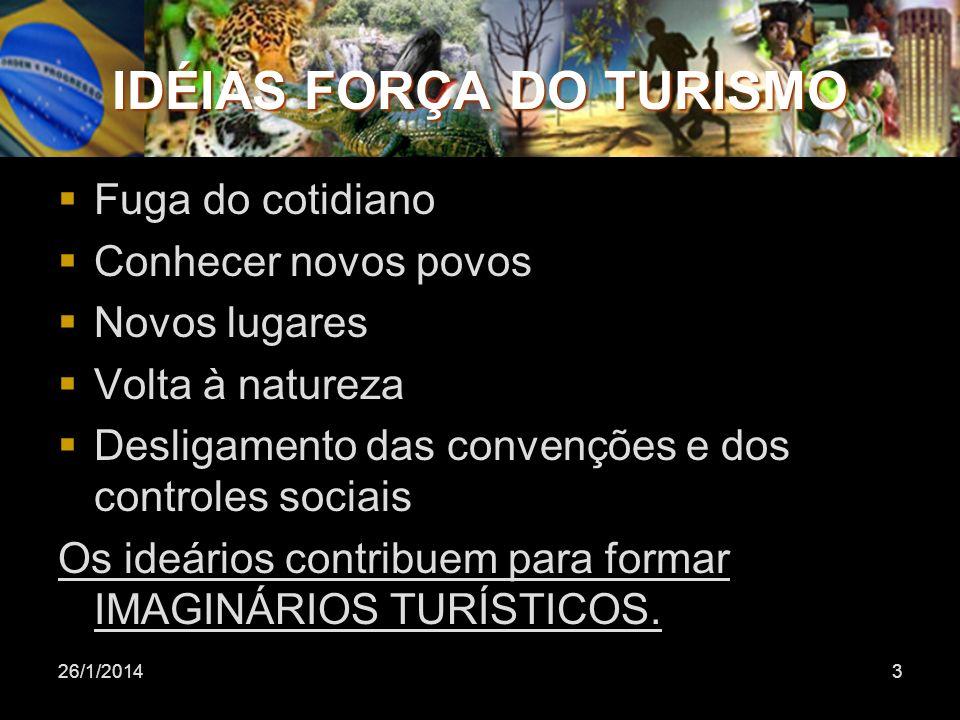 IDÉIAS FORÇA DO TURISMO