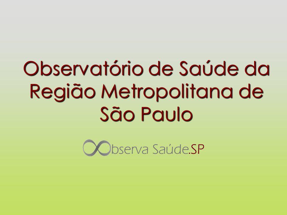 Observatório de Saúde da Região Metropolitana de São Paulo