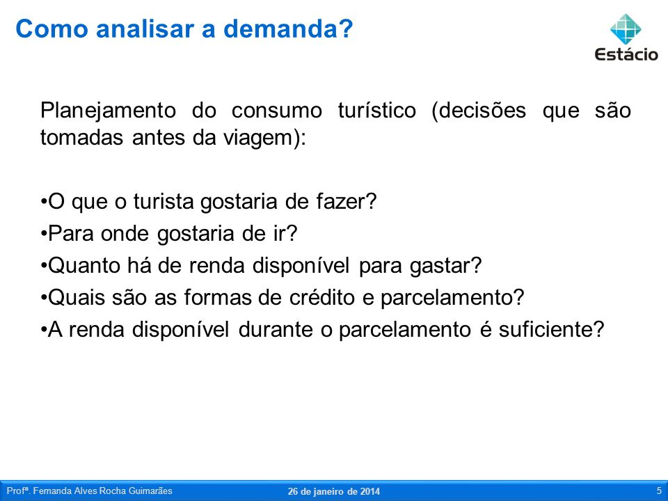 Como analisar a demanda