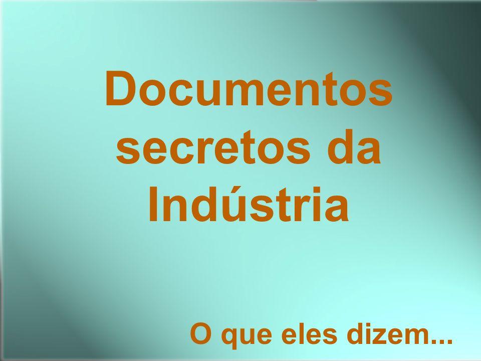 Documentos secretos da Indústria