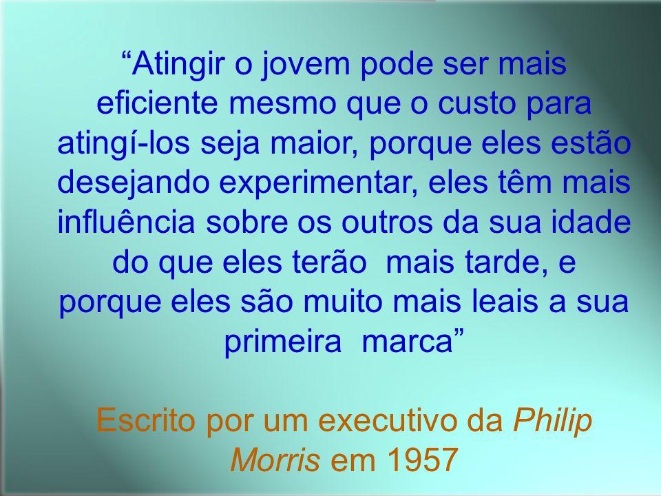 Escrito por um executivo da Philip Morris em 1957