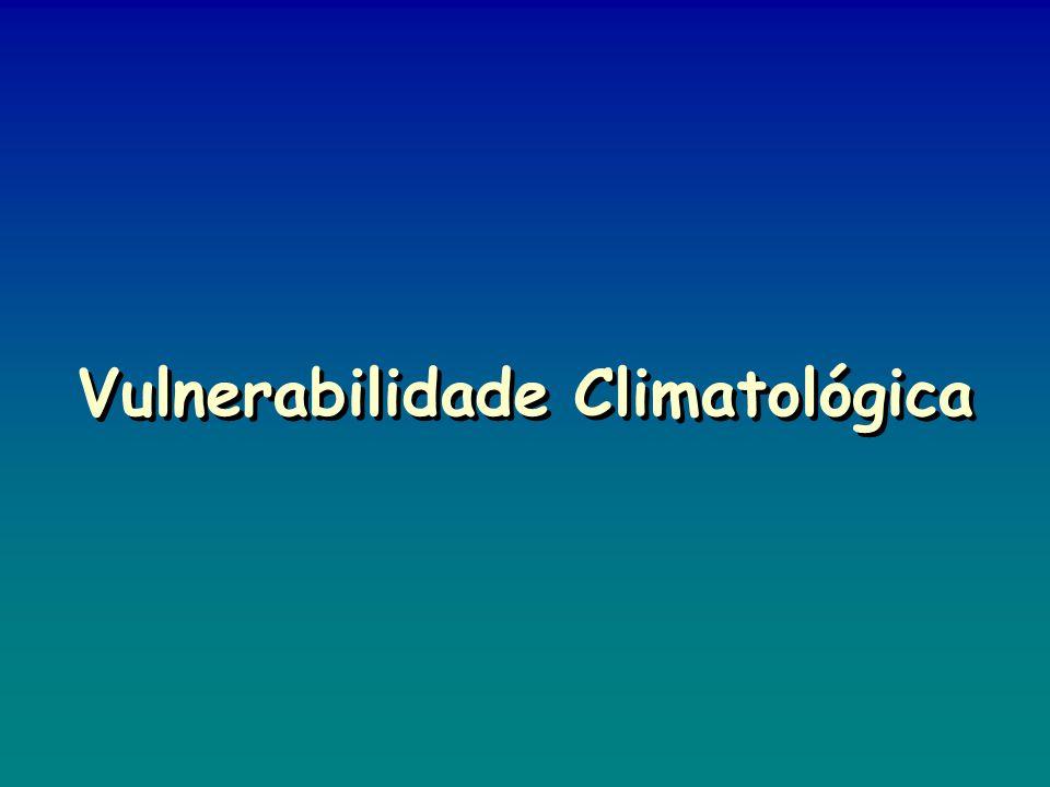 Vulnerabilidade Climatológica