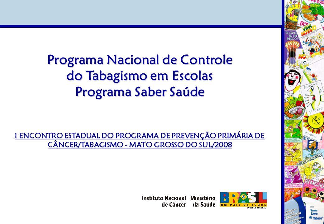 Programa Nacional de Controle do Tabagismo em Escolas
