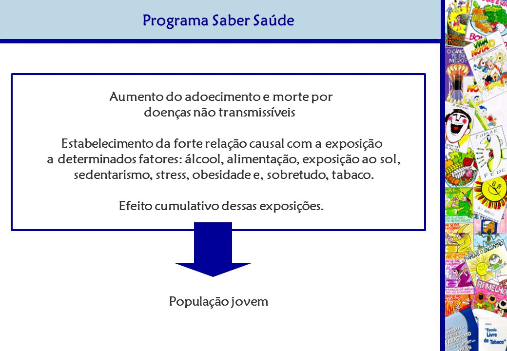 Programa Saber Saúde doenças não transmissíveis
