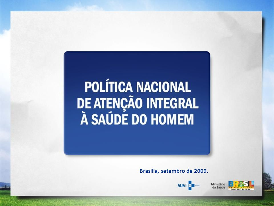 Brasília, setembro de 2009.