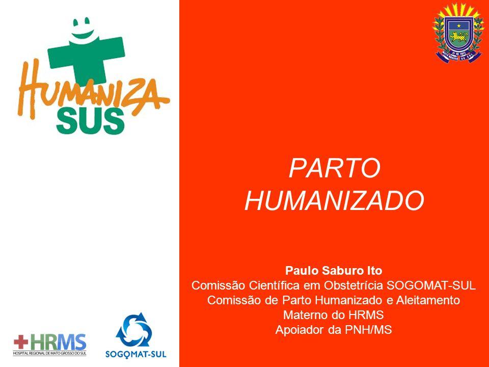PARTO HUMANIZADO Paulo Saburo Ito