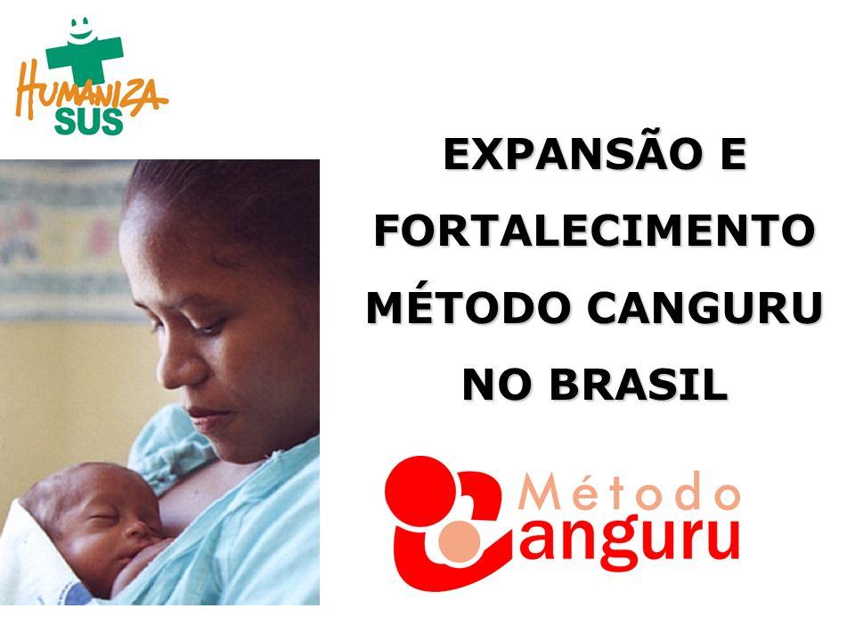 EXPANSÃO E FORTALECIMENTO MÉTODO CANGURU NO BRASIL