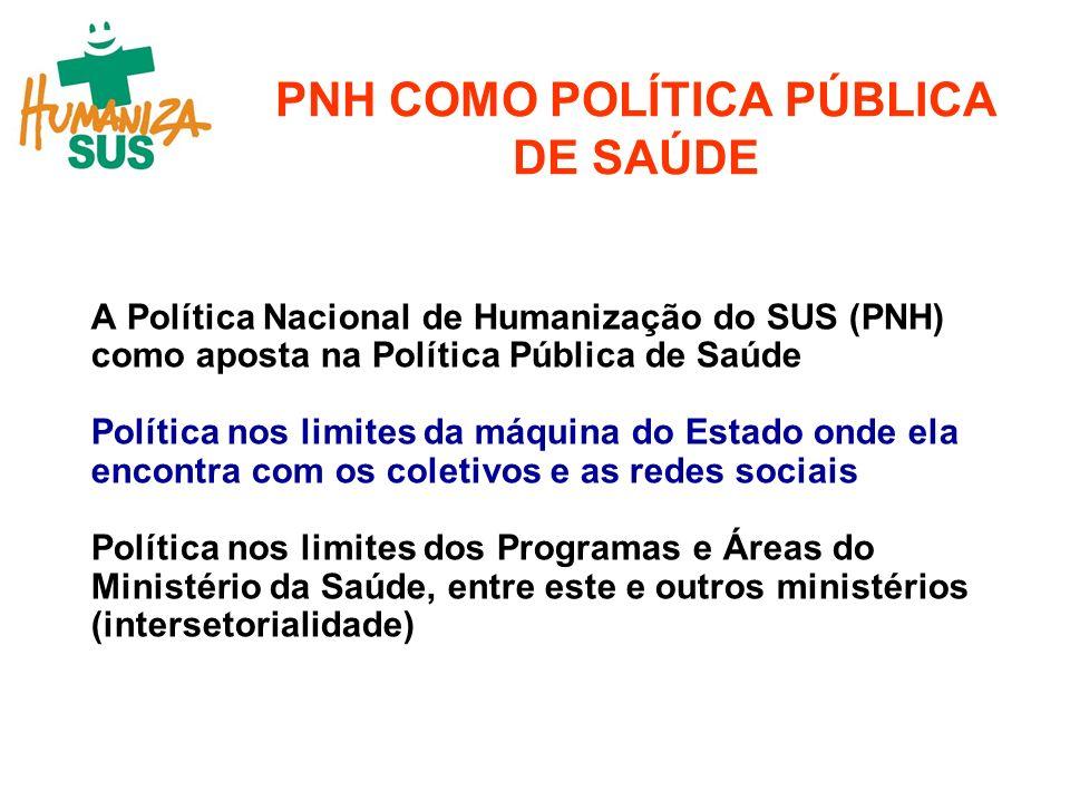 PNH COMO POLÍTICA PÚBLICA DE SAÚDE