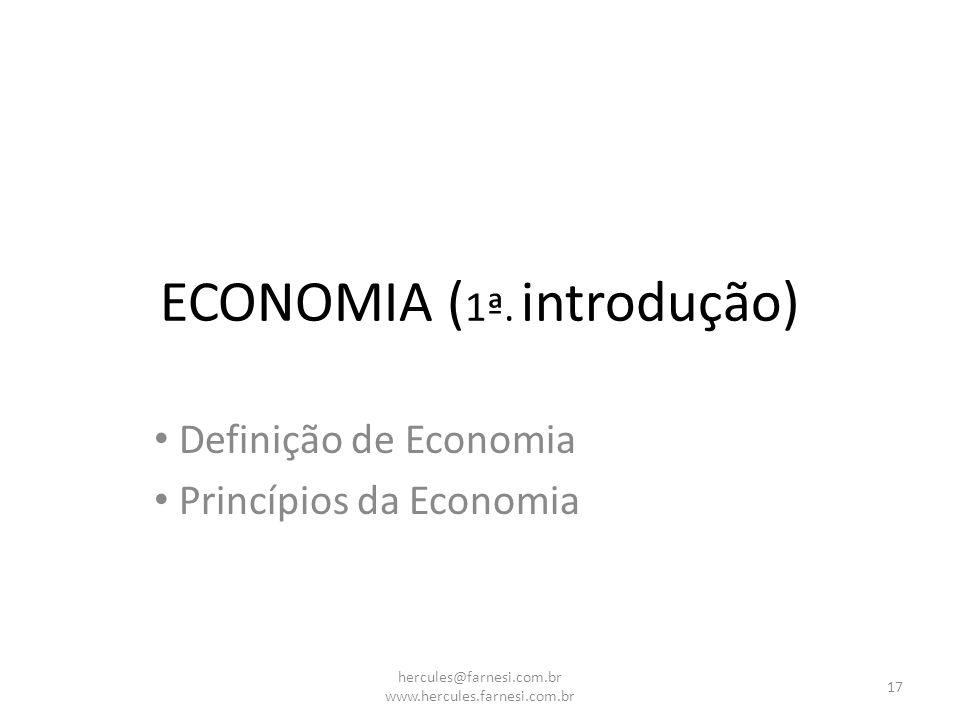 ECONOMIA (1ª. introdução)