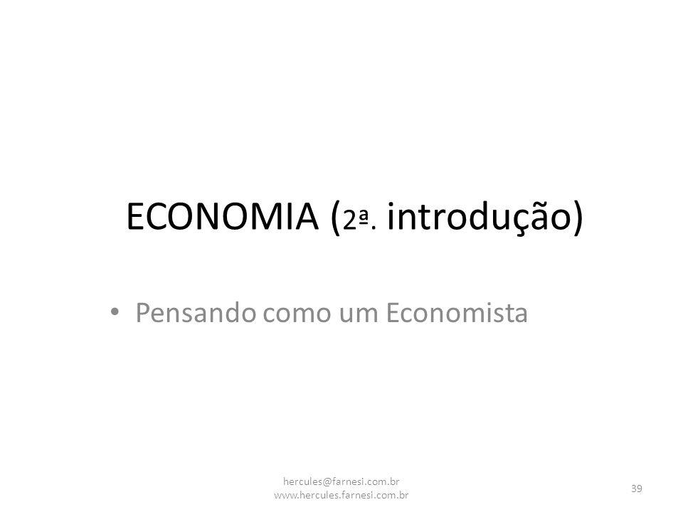 ECONOMIA (2ª. introdução)