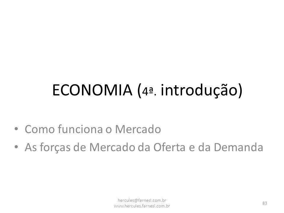 ECONOMIA (4ª. introdução)