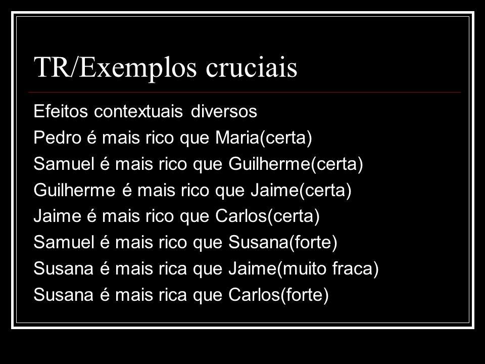TR/Exemplos cruciais Efeitos contextuais diversos