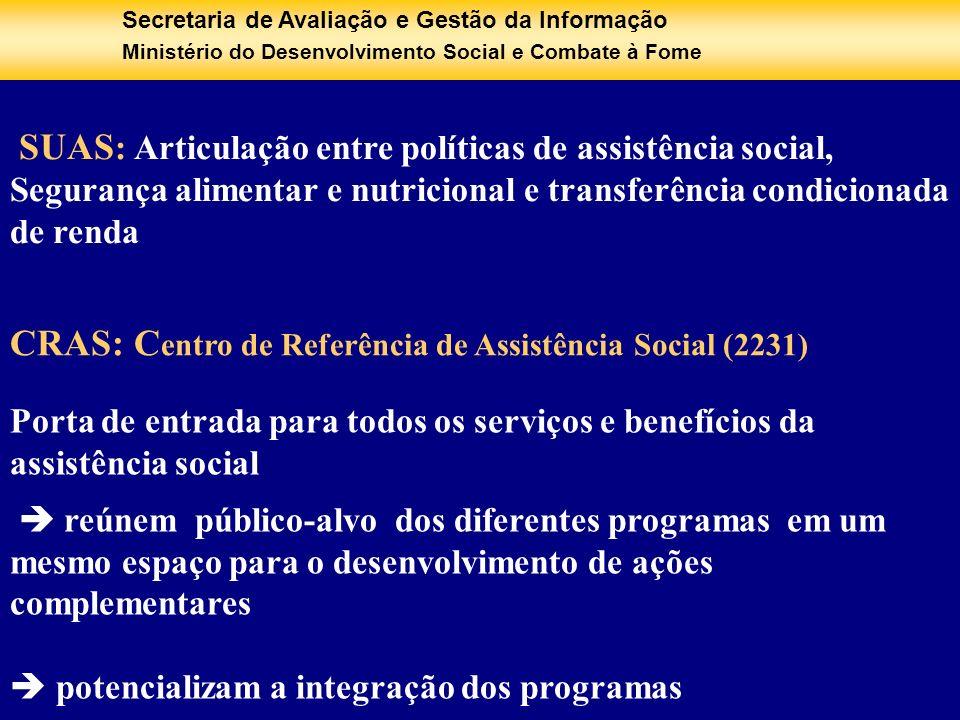 CRAS: Centro de Referência de Assistência Social (2231)