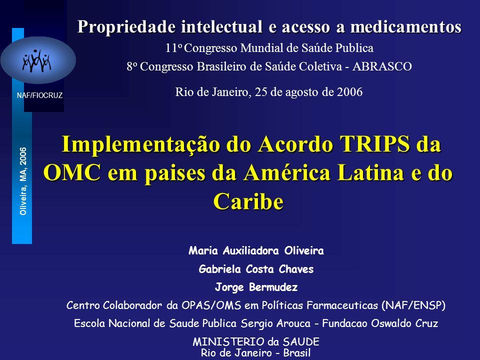 Propriedade intelectual e acesso a medicamentos