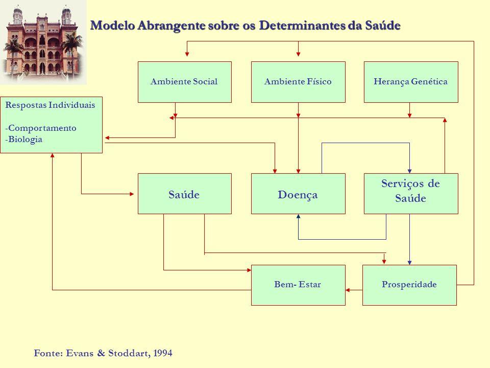 Modelo Abrangente sobre os Determinantes da Saúde