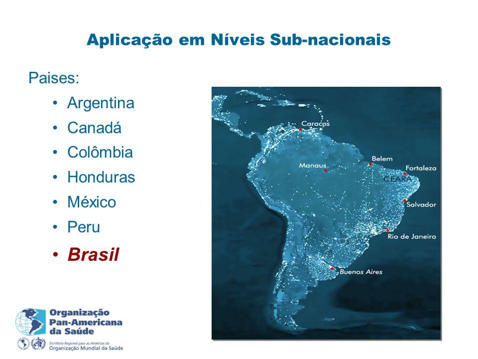 Aplicação em Níveis Sub-nacionais