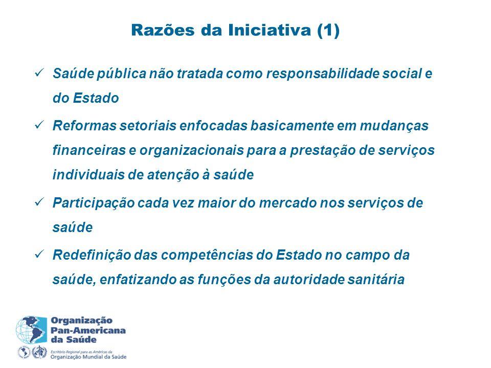 Razões da Iniciativa (1)