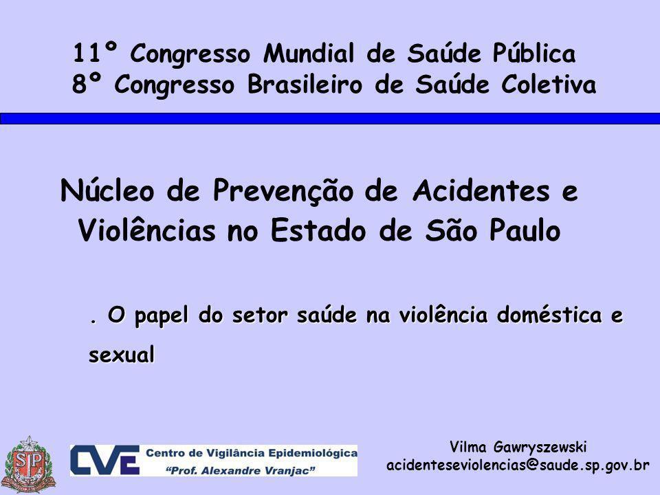 Núcleo de Prevenção de Acidentes e Violências no Estado de São Paulo