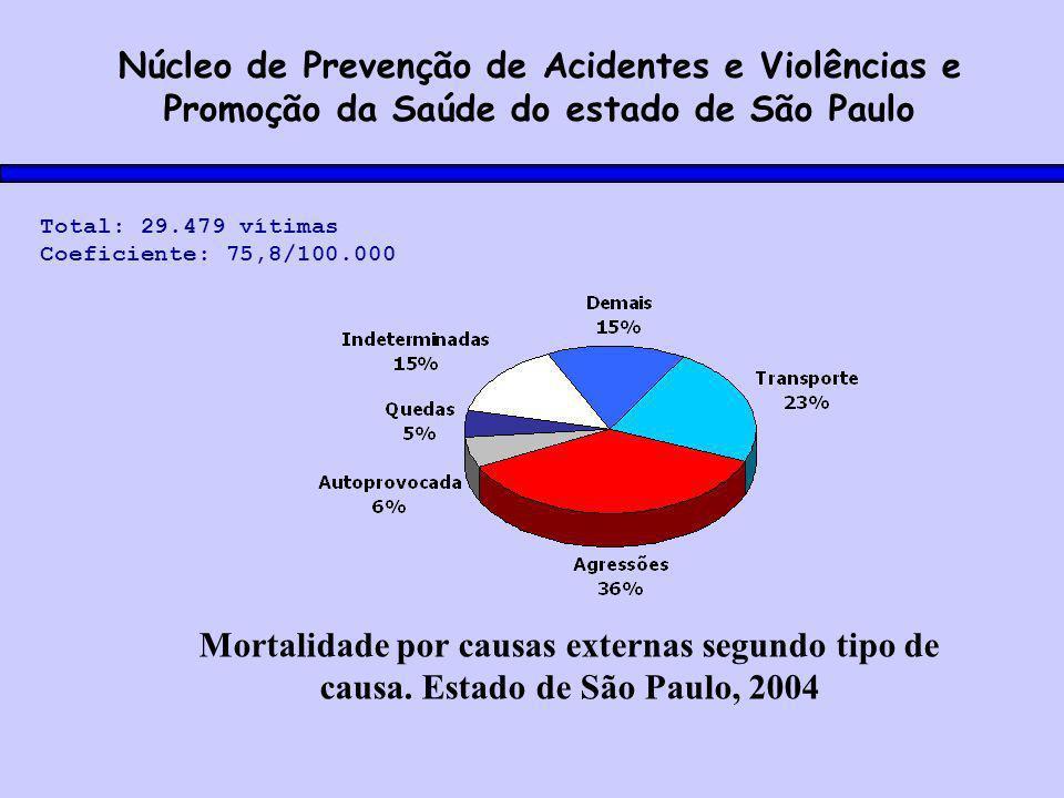 Núcleo de Prevenção de Acidentes e Violências e Promoção da Saúde do estado de São Paulo