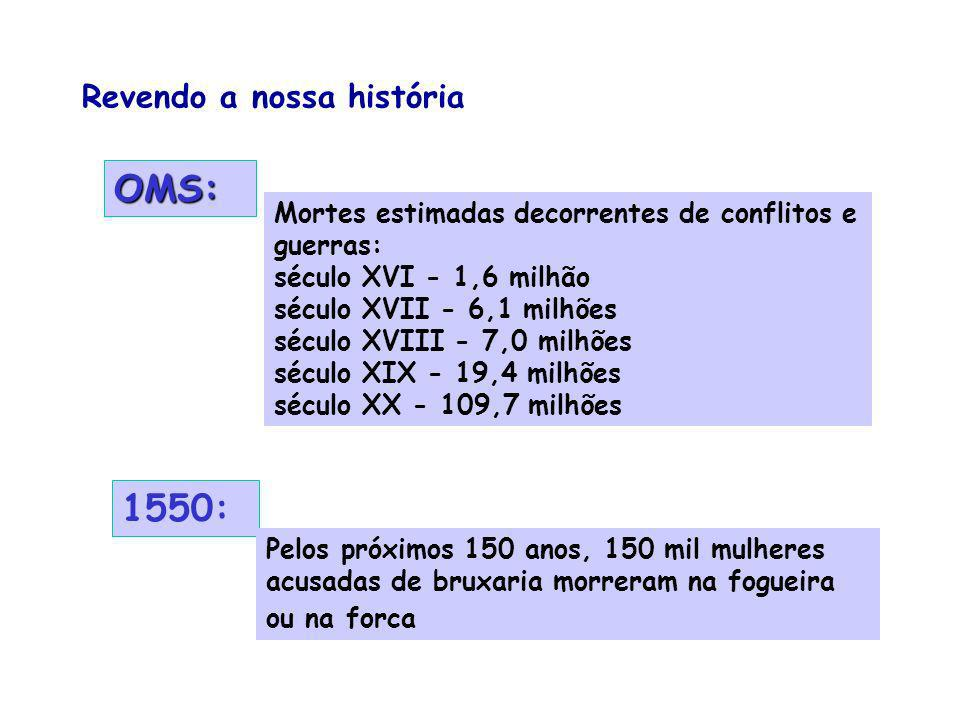 OMS: 1550: Revendo a nossa história