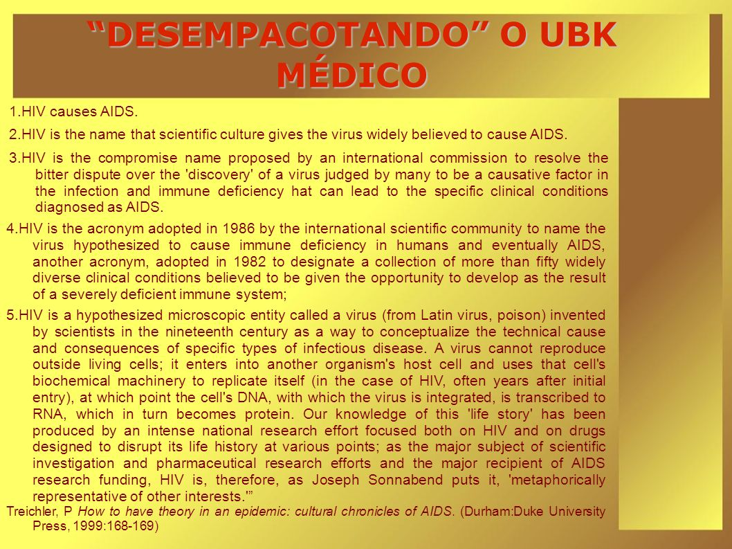 DESEMPACOTANDO O UBK MÉDICO
