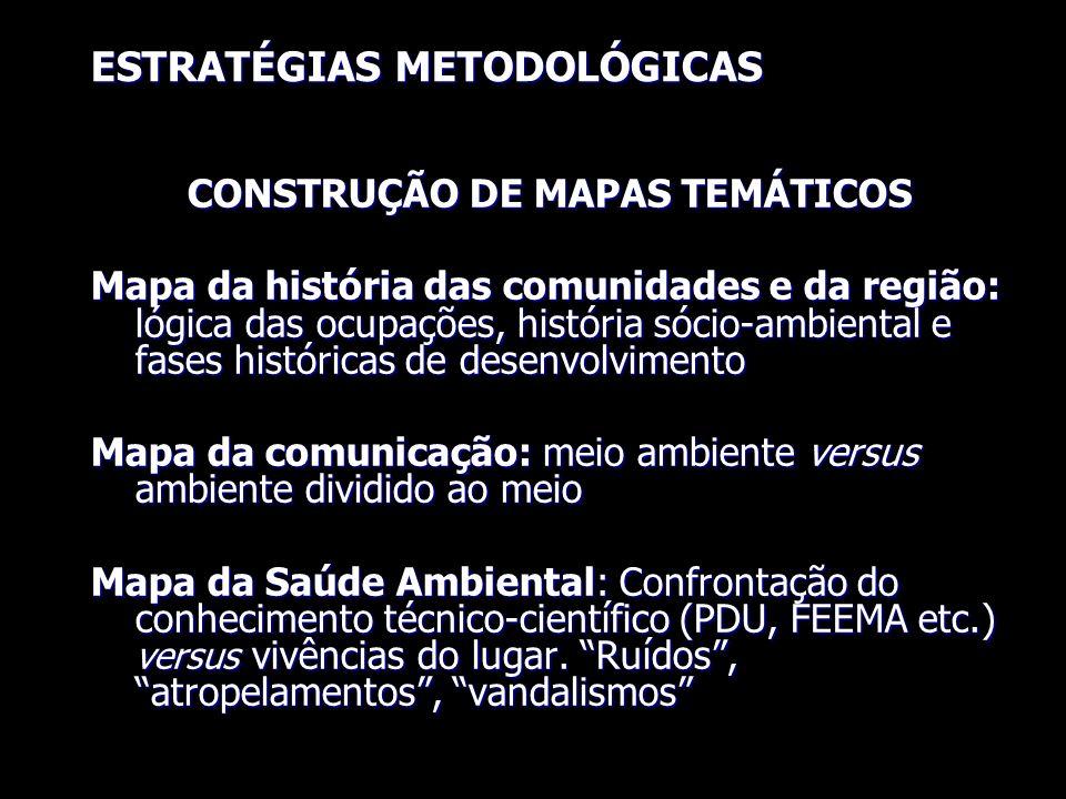 CONSTRUÇÃO DE MAPAS TEMÁTICOS