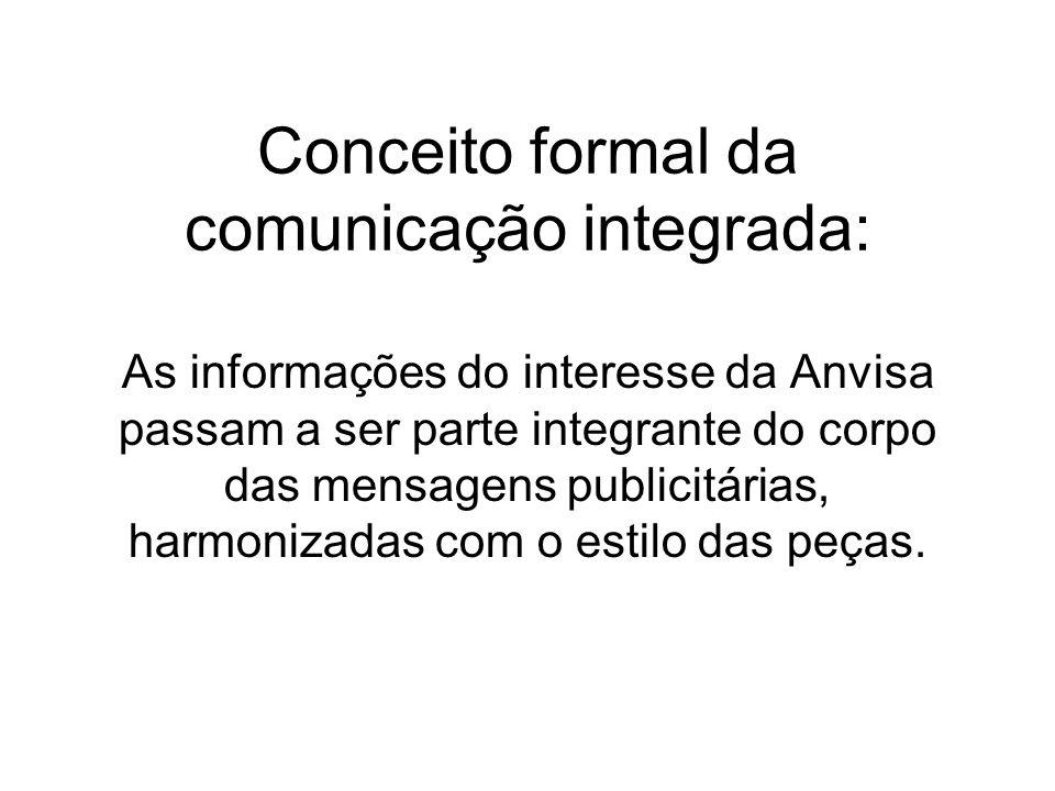 Conceito formal da comunicação integrada: