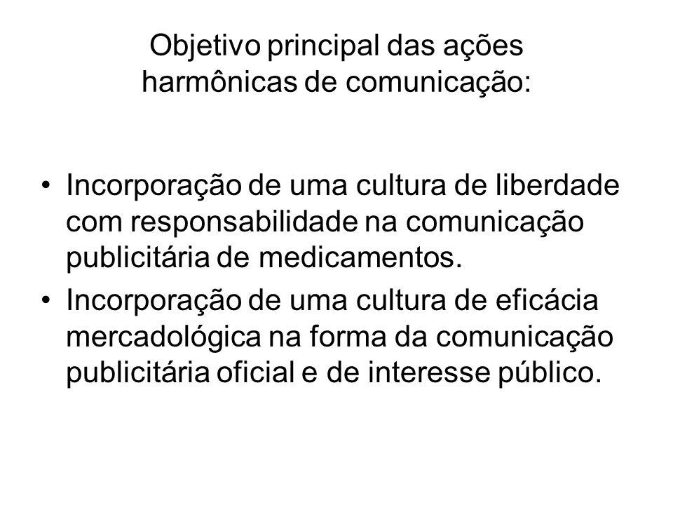 Objetivo principal das ações harmônicas de comunicação: