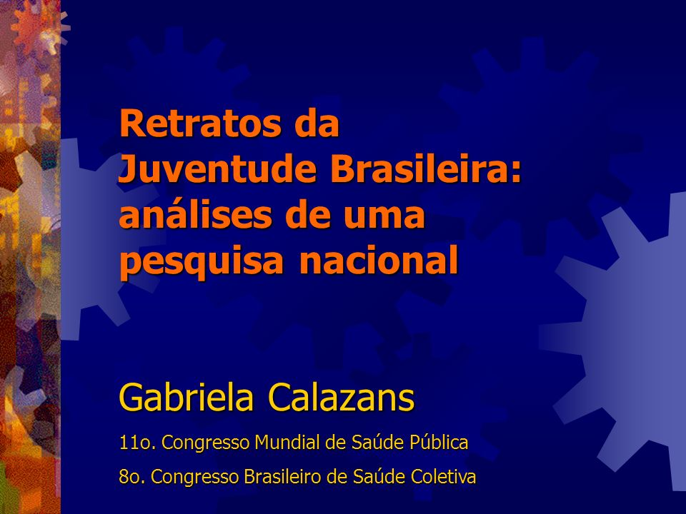 Juventude Brasileira: análises de uma pesquisa nacional