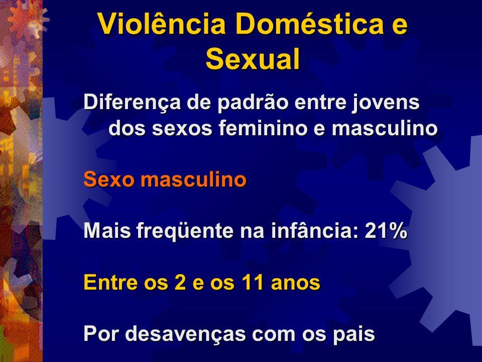 Violência Doméstica e Sexual