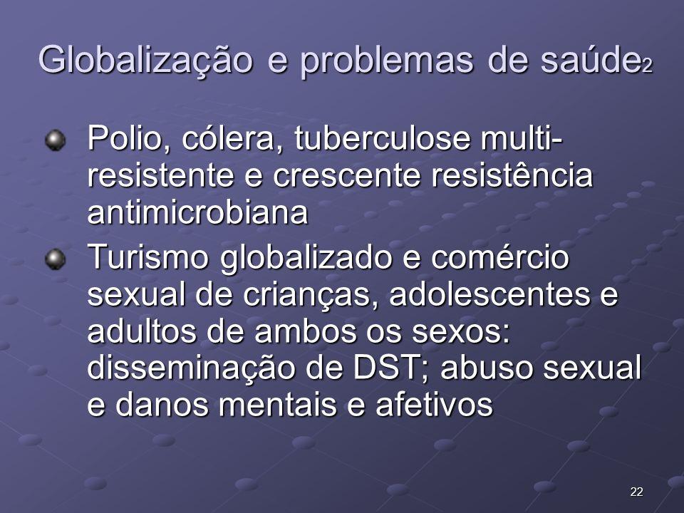 Globalização e problemas de saúde2