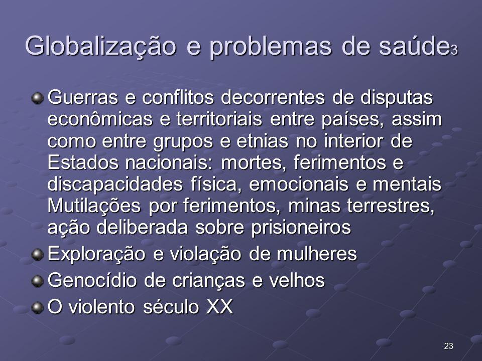 Globalização e problemas de saúde3