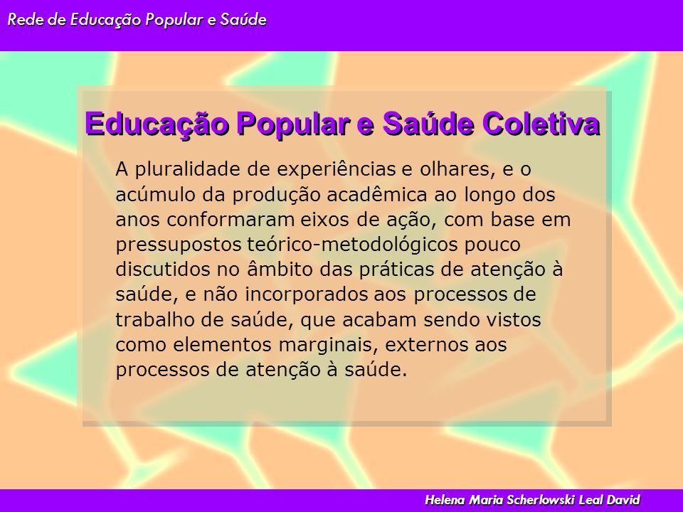 Educação Popular e Saúde Coletiva