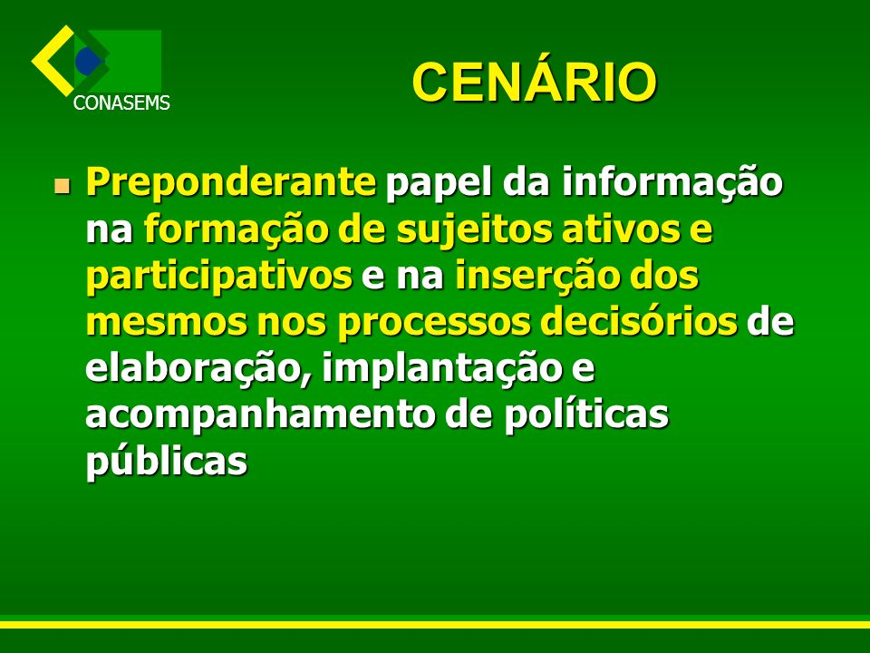 CENÁRIO