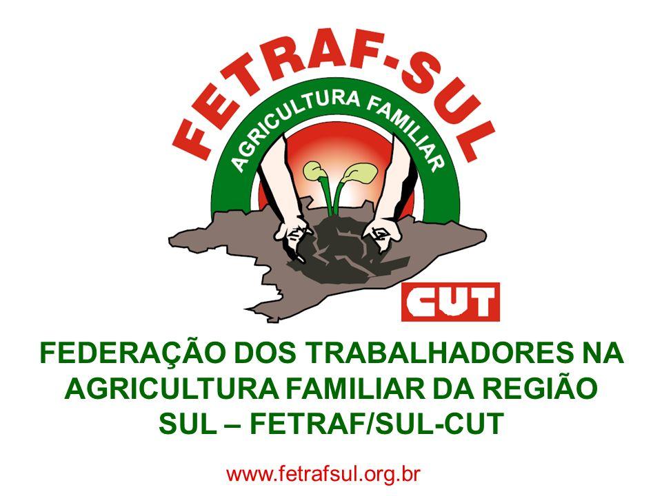 FEDERAÇÃO DOS TRABALHADORES NA AGRICULTURA FAMILIAR DA REGIÃO SUL – FETRAF/SUL-CUT