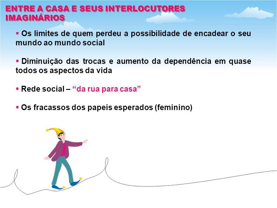 ENTRE A CASA E SEUS INTERLOCUTORES
