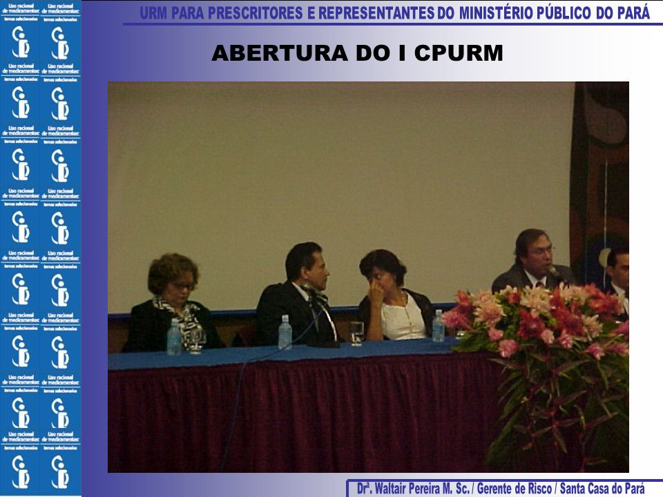 ABERTURA DO I CPURM