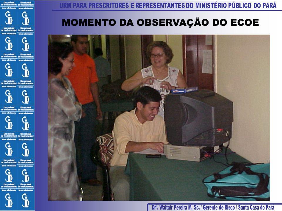MOMENTO DA OBSERVAÇÃO DO ECOE