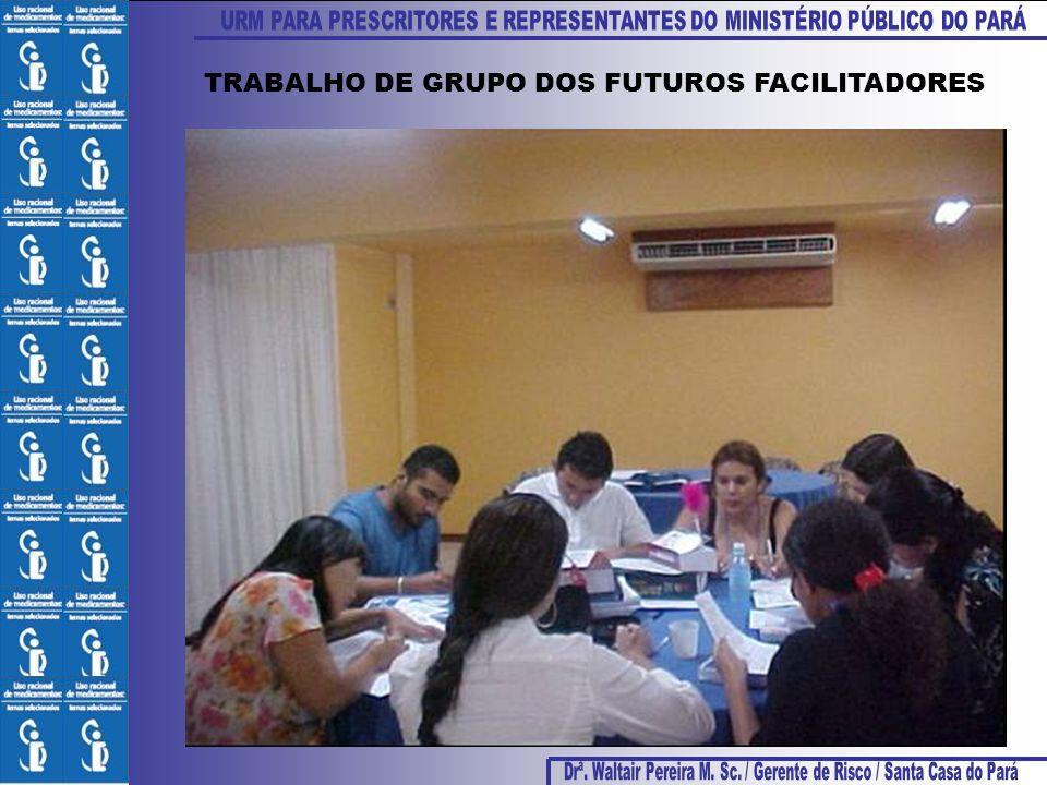 TRABALHO DE GRUPO DOS FUTUROS FACILITADORES