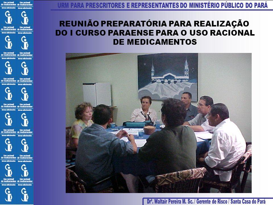 REUNIÃO PREPARATÓRIA PARA REALIZAÇÃO