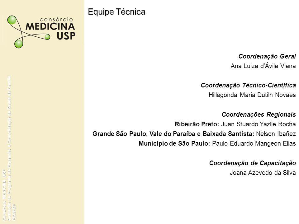 Equipe Técnica Coordenação Geral Ana Luiza d'Ávila Viana